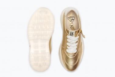 Woman shoes model Dorothea color platinum | DLSport®